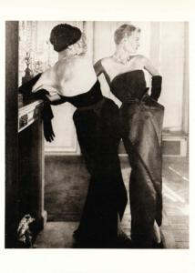 Paris Collection in 1949 Fashion Photo by Horst Modern Postcard