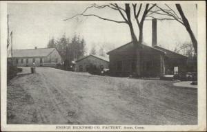 Avon CT Ensign Bickford Co Factory c1910 Postcard