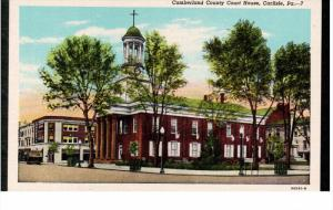 CARLISLE, Pennsylvania; Cumberland County Court House, 30-40s