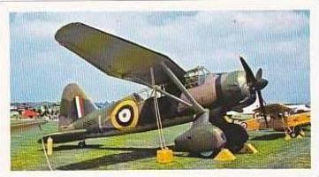 Doncella Vintage Cigarette Card Golden Age Of Flying No 19 Westland Lysander ...