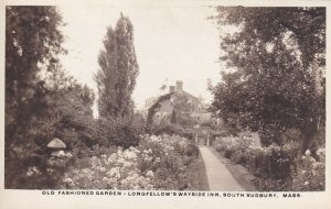 RP; SOUTH SUDBURY, Mass., 10-20s; Old Fashioned Garden, Longfellow's Wayside Inn