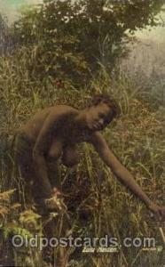 Zulu Maiden African Nude Post Card Post Card  Zulu Maiden
