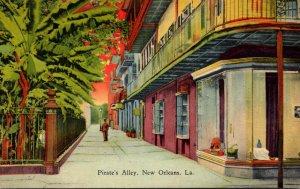 Louisiana New Orleans Pirate's Alley Curteich