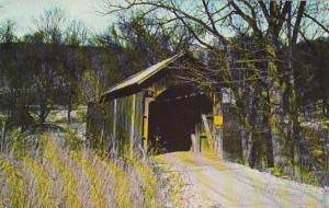 Covered Bridge Mellowed With Age Armstrong Mill Bridge Vermont