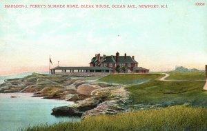 Vintage Postcard Marsden J. Perry's Summer Home Bleak House Newport Rhode Island