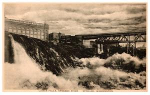 Washington   Spokane , Lower Falls Spokane river