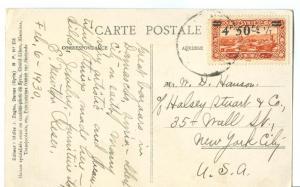 Syria, Damas, Damascus, Bab-Essalam, 1930 used Postcard