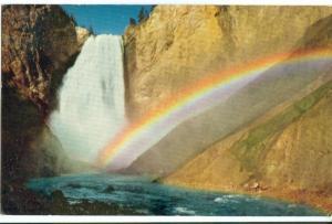 Rainbow in Spray, Lower Yellowstone Falls, Wyoming