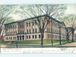 Pre-Chrome HIGH SCHOOL SCENE Toledo Ohio OH AG6926