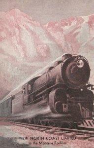 New North Coast Limited Train , Montana Rockies , 00-10s