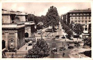 Viale Vittorio Veneto Milano Italy 1911