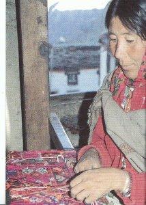 Occupation Postcard - Start Weaving at Home   ZZ867