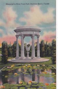 Florida Daytona Beach Memorial In River Front Park