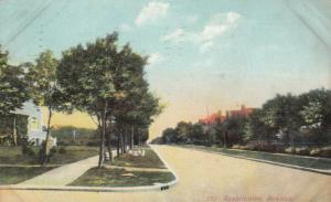WINNIPEG , Manitoba , 1908 ; Assiniboine Avenue