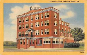 hotel carlton rehoboth beach delaware L4731 antique postcard
