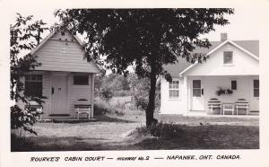RP:  NAPANEE , Ontario , Canada , 30-40s; Rourke's Cabin Court