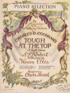 Tough At The Top A Light Opera Piano Selection Album Book