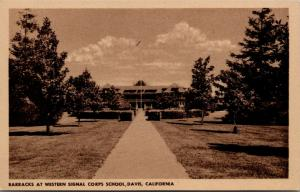 University California-Davis~Western Signal Corps School Barracks~1944 WWII Era