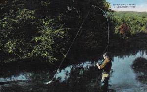 Michigan Niles Fishing In Dowagiac Creek