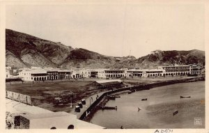 Yemen Aden Panorama real photo postcard