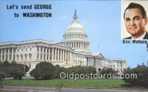 Gov. Wallace United States Political Postcard Postcards Unused