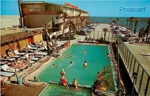 MS, Biloxi, Mississippi, Cabana Beach Motel, Pool, Picture Publishers No. 35874B
