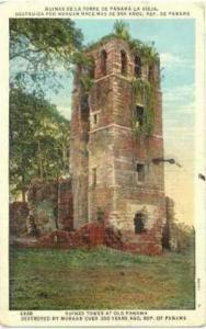 Ruinas De La Torre De Panama La Vieja, Destruida Por Morgan Hace Mas De 300 A...