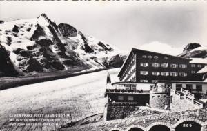 RP, Kaiser Franz Josef-Haus 2451 m. Mit Pasterzengletscher Grossglockner 3798...
