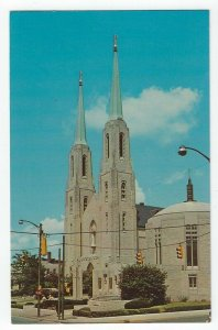 Fort Wayne, IN, Vintage Postcard View of Cathedral of Immaculate Conception