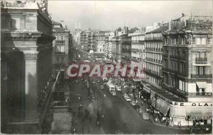 Modern Postcard Marseille (B Rhone) La Canebiere