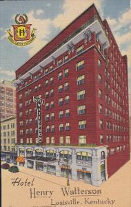 Exterior,  Hotel Henry Watterson,  Louisville,  Kentucky,  30-40s