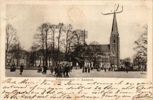 CPA ARNHEM Velperplein NETHERLANDS (604688)