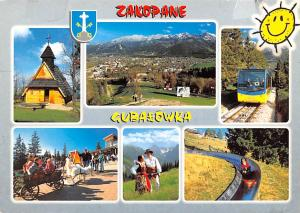 Poland Old Vintage Antique Post Card Zakopane Gubaeowka Postal Used Unknown