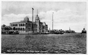 Egypt Port-Said, Office of the Suez Canal Company