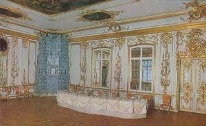 Tower Of Pushkin Catherine Palace Marble Chamber Leningrad Russia Postcard