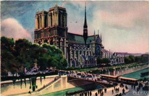 CPA PARIS 4e Notre Dame (446215)