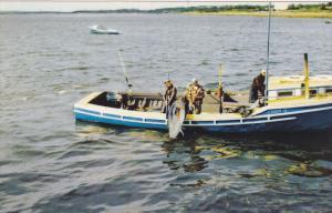 Tuna Fishing , Wedgeport , Nova Scotia ,  Canada , 50-60s #2