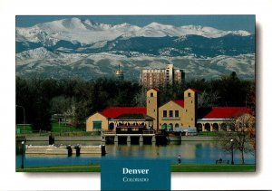 Colorado Denver City Park Boat House