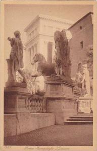 Campidoglio i Dioscuri, Roma (Lazio), Italy, 1900-1910s