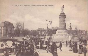 Place Du Trente-Octobre Un Jour De Foire, Dijon (Côte-d'Or), France, 1900-1910s
