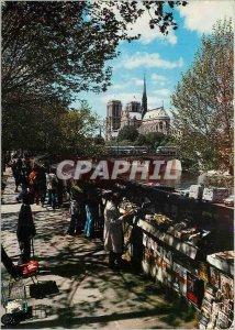 Modern Postcard Paris and its booksellers Wonders