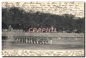 Postcard Old Army Tlemcen 2nd Riflemen La Nouba