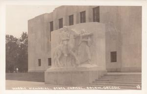 RP: SALEM , Oregon , 30-40s; Marble Memorial, State Capitol