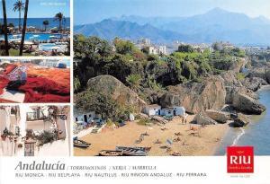 Spain Andalucia Torremolinos, Riu Monica Hotel Swimming Pool Panorama