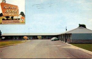 Virginia Bristol Bel-Air Motel 1964
