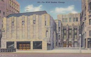 Illinois Chicago The Wgn Studios 1943