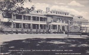 Administration Building The Chaplain School Fort Slocum New York