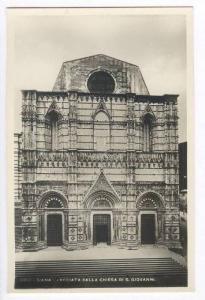 RP, Facciata DellA Chiesa Di S. Giovanni, Siena (Tuscany), Italy, 20-40s