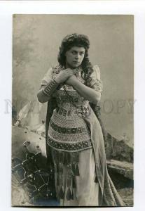 261304 Russian OPERA Singer WAGNER Warrior Vintage PHOTO PC