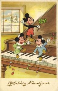 Walt Disney, Mickey Mouse with Nephews Morty and Ferdie Fieldmouse (1950s)